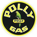 Polly Gas Gas Station Decal - The Best