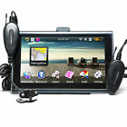 "7"" GPS Navigation + Wireless rear camera Bluetooth Night Vision AV 4GB SpeedCam"