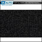 for 1981-82 Mercury Cougar 2 Door Cutpile 801-Black Complete Carpet Molded