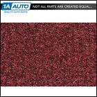 for 82-94 Chevy Cavalier 4 Door Cutpile 885-Light Maroon Complete Carpet Molded