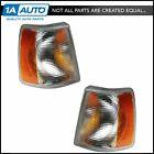 Corner Side Marker Turn Signal Parking Light Lamp Pair Set for Volvo 960 740 940