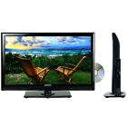 "19"" LED LCD DIGITAL TUNER HD TV TELEVISION DVD PLAYER HDMI AC/DC 12V CORD RV NEW"