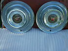 2 - 1958 Buick Hubcaps Wheel covers