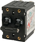 CIRCUIT BREAKER DOUBLE POLE 30A A-SERIES BLACK TOGGLE BLUE SEA SYSTEMS 7237