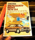 Chiltons Mercedes-Benz 1974-84 repair manual, 26 diff models, nice