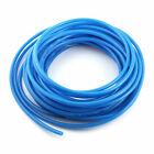 8mm OD 5mm Inner Dia Blue PU Tube Hose Pipe 15m 50ft for Pneumatics