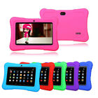"New 7"" 16GB Android 4.4 A33 Multi Touch Quad Core Tablet PC For Kids Bundle Case"