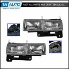 OEM 15034929 & 15034930 Headlight LH Left RH Right Pair Set for Chevy GMC