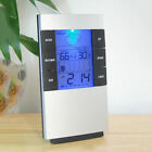 LCD Digital Alarm Clock Indoor Weather Station Hygrometer Thermometer Humidity