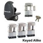 Master Lock - 5 Trailer Locks Keyed Alike - 5KA-37937-37