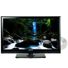 "22"" HDTV LED LCD DIGITAL TUNER HD TV TELEVISION DVD PLAYER 12V CAR CORD BOAT/RV"