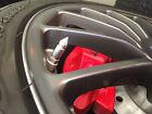 VALVE STEM CAPS Billet Aluminum SHORT SPIKE   Hot rod 4 pack MADE IN THE USA