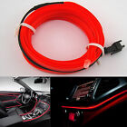 6.5ft Panel Gap Neon Lamp Strip RED Cold EL OLED Interior Light Trim Atmosphere