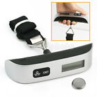 Travel 50kg x 50g LCD Travel Suitcase Luggage Weighing Weight Scale Thermometer