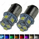 2X White 1157 BAY15D 8 SMD 5050 LED Brake Tail Turn Signal Rear Light Bulb ZE001