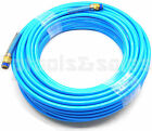 "100ft x 1/4"" Air Compressor PU Hose Roofing Framing Carpentry 1/4"" NPT Fitting"