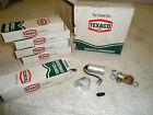 NOS Texaco 5 Pcs: Contacts and Condenser cc-30 box of 5 w/ display box VINTAGE