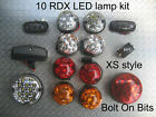 Td5/Tdci RDX LED XS Style 10 Lamps Side Repeater NumLmp. Defender 1998 to 2016 D