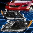 Black Housing Amber Side Corner Projector Headlight for 2007-2009 Toyota Camry