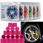 20pcs/set 17mm Silicone Wheel Lugs Nuts Bolts Covers Hub Screw DUST Cover Caps