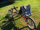 Terratrike Traveler folding tadpole bicycle