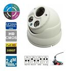 4 in 1 HD-TVI 2.1MP 2.8-12mm Lens Varifocal Array IR Dome Security Camera