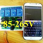 AC 110V 220V 4CH Bluetooth Relay Android app Wireless Remote Controller Switch