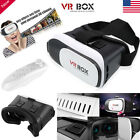 Virtual Reality VR Headset VR BOX 2.0 Goggles 3D Glasses Cardboard Remote New