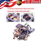1x Carburetor Fit Fit Toyota Land Cruiser 1988-1992 21100-61200,21100-61300