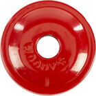 Woodys AWA-3790 Round Aluminum Support Plates Red - 5/16in. Thread