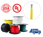 6 AWG Marine Wire Spool Tinned Copper Primary Boat Cable 100 ft Yellow USA Made