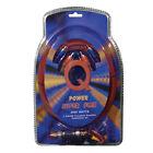 Q Power Super Flex 8-Gauge 2000-Watt Amplifier Wiring Amp Kit | 8GAMPKIT-SFLEX