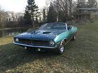 1970 Plymouth Barracuda  1970 Cuda B7 Blue Covertible 383
