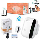 Range EU/US Plug 300Mbps 802.11 Booster Router Wifi Repeater Signal Extender
