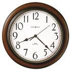 "Howard Miller Talon Auto Daylight-Savings Wall Clock, 15 1/4"""", Cherry"