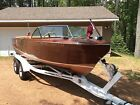 1957 Chris Craft Holiday + Tandem Axel Trailer West System Bttm Complete Restore