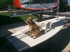 Byte sailboat, trailer, and dolly