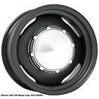 "MPRST156P 15x6 Mopar Standard | 5x4 1/2"" bolt | 3.75"" backspace | Powder Coat fi"