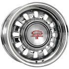 "689SS146 14x6 Ford Styled Steel 1968-69 | 5x4 1/2"" bolt | 4.00"" backspace | Blac"