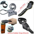 Car Protable 500mm Rubber Strap Wrench Adjustable Automotive Filter Spanner Tool