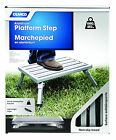 43677 Platform Step, Metal--NEW--Camco Folding Legs,fixed height