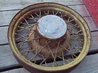 "Vintage 1930s 40s Chevrolet Wire Wheels 6 Lug 18/19"" Spoke Wheel RAT ROD OEM HOT"