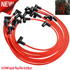 RED High Performance 10.5 MM Spark Plug Wire Set HEI SBC BBC 350 383 454 SE