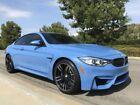 2016 BMW M4  2016 BMW M4 Coupe - Yas Marina Metallic Blue / Silverstone Merino Leather