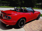 1993 Mazda MX-5 Miata MX-5 1993 Mazda Miata MX-5 Red Convertible Manual 5 Speed Show Car