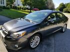 2013 Subaru Impreza LIMITED 2013 SUBARU IMPREZA 4D 2.0I LIMITED DARK GREY/BLACK LEATHER CLEAN
