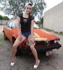1976 Alfa Romeo GTV GTV Alfetta 1977 Alpha Romeo GTV 1.8 Alfetta GT Saloon 5 spd Az car parked 10+ yrs  min rust