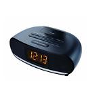 Sylvania SCR1997-BLACK USB Bluetooth Alarm Clock Radio