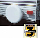 """ADCO White Spare tire cover  26"""" diameter 215/70/14"""