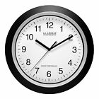 "WT-3129B La Crosse Technology 12"" Atomic Wall Clock Black - Refurbished"